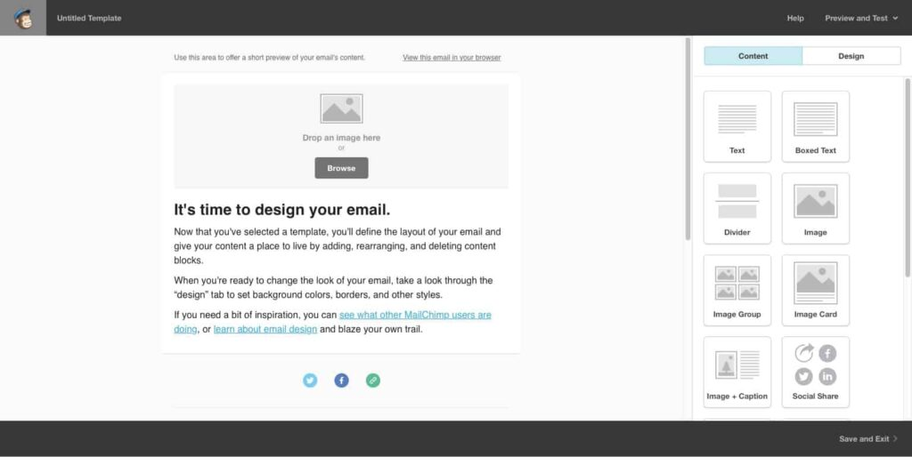 Best Email Marketing Software for Small Business: MailChimp