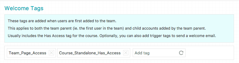 Example of Using Automation Tags for Flagging Corporate Training Clients