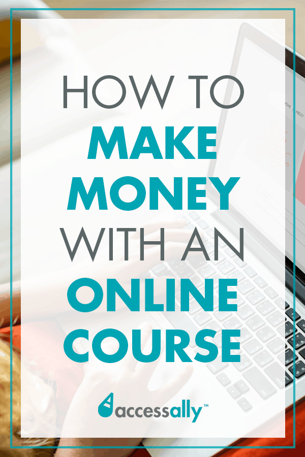 Make money with an online course while you write your book